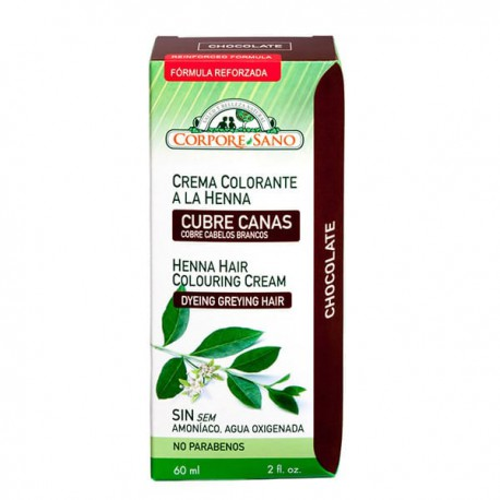 CORPORE SANO CREMA COLORANTE HENNA CHOCOLATE 60 ML