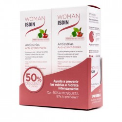 WOMAN ISDIN ANTIESTRIAS DUPLO 2X250ML