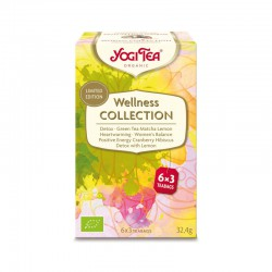 YOGI TEA WELLNESS COLLECTION 6X3 BOLSITAS