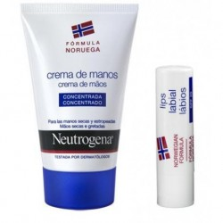 NEUTROGENA CREMA DE MANOS CONCENTRADA 50ML + LABIAL