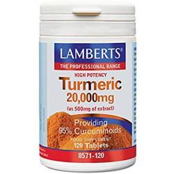 LAMBERTS TURMERIC CURCUMA 20,000MG 120 CAPS