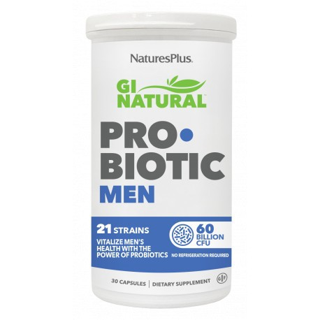 NATURE'S PLUS GI NATURAL PROBIOTIC MEN 30 CAPSULAS