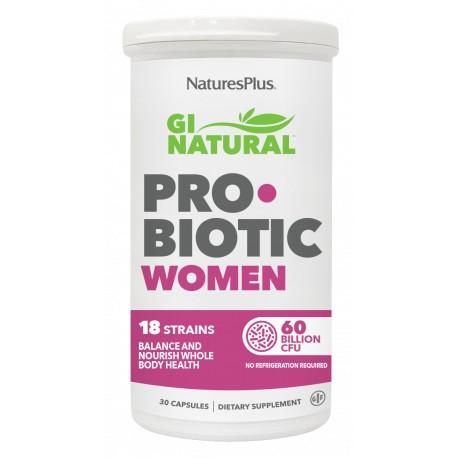 NATURE'S PLUS GI NATURAL PROBIOTIC WOMEN 30 CAPSULAS