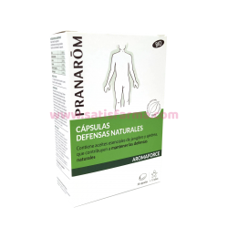 PRANAROM AROMAFORCE DEFENSAS NATURALES BIO 30 CAPSULAS