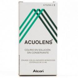 ACUOLENS 5.5/3 MG/ML COLIRIO 30 MONODOSIS SOLUCION 0.5 ML
