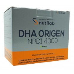 NUTILAB DHA ORIGEN NPD1 4000 30 VIALES