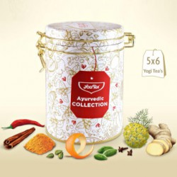 YOGI TEA AYURVEDIC COLLECTION LATA 30 SOBRES