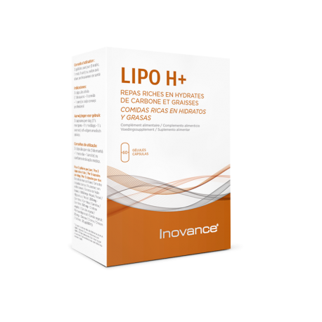 INOVANCE LIPO H+ 60 CAPSULAS