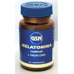 GSN MELATONINA COMPLEX + PASIFLORA 60 COMPRIMIDOS