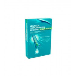 GAVISCON 24 SOBRES SUSPENSION ORAL MENTA 10ML