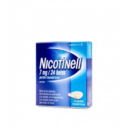 NICOTINELL 7 MG/24 H 14 PARCHES TRANSDERMICOS 17,5MG