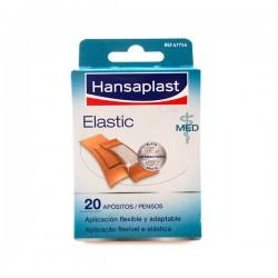 HANSAPLAST ELASTIC APOSITO ADHESIVO 2 TAMAÑOS 20 STRIPS