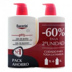 EUCERIN PH5 GEL DE BAÑO DUPLO 2X1000ML