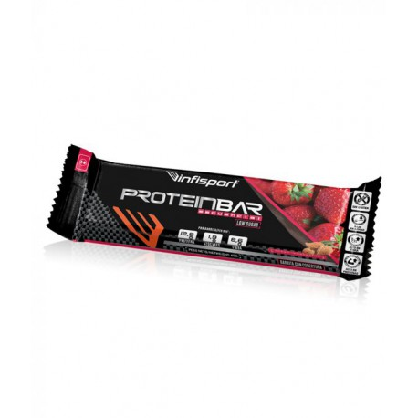INFISPORT BARRITA PROTEIN BAR FRESA-CHOCOLATE 40G