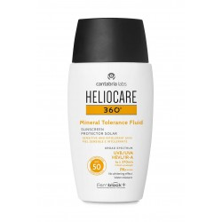 HELIOCARE 360 SPF-50 MINERAL TOLERANCE FLUID PROTECTOR SOLAR 50ML