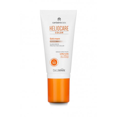 HELIOCARE GELCREMA COLOR BROWN 50ML
