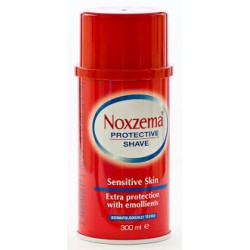 NOXZEMA EXTRA SENSITIVE ROJA ESPUMA AFEITAR 300ML