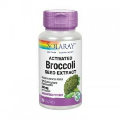 SOLARAY ACTIVATED BROCCOLI - EXTRACTO DE SEMILLAS DE BRÓCOLI 30 CAPSULAS