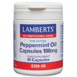 LAMBERTS MENTA - PEPPERMINT OIL 90 CAPSULAS