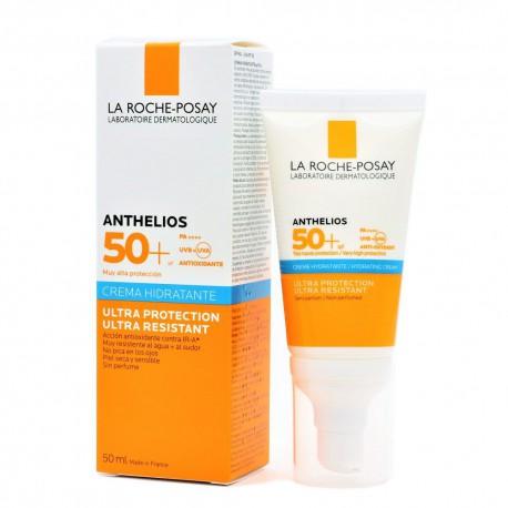 LAROCHEPOSAY ANTHELIOS CREMA HIDRATANTE SIN PERFUME SPF50+ 50ML