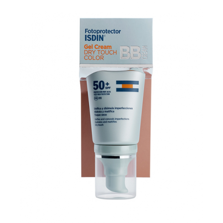 FOTOPROTECTOR ISDIN GEL CREAM DRY TOUCH COLOR SPF50+ 50ML
