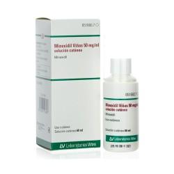 MINOXIDIL VIÑAS  5% 50MG/ML SOLUCION CUTANEA 1 FRASCO 60ML