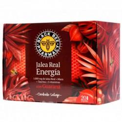 BLACK BEE JALEA REAL ENERGIA GUARANÁ 20 AMPOLLAS