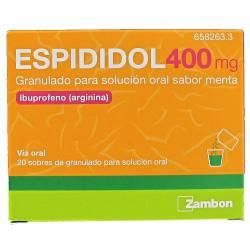 ESPIDIDOL 400MG 20 SOBRES GRANULADO SOLUCION ORAL