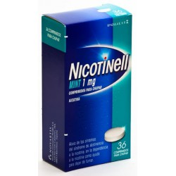 NICOTINELL MINT 1MG 36 COMPRIMIDOS PARA CHUPAR