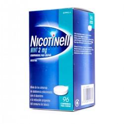 NICOTINELL MINT 2MG 96 COMPRIMIDOS PARA CHUPAR