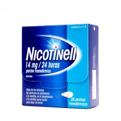 NICOTINELL 14 MG/24H 28 PARCHES TRANSDERMICOS