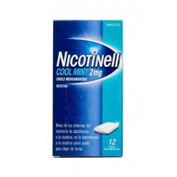 NICOTINELL COOL MINT 2MG 12 CHICLES MEDICAMENTOSOS