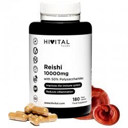 HIVITAL REISHI 10000MG 180 CAPSULAS
