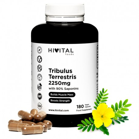 HIVITAL TRIBULUS TERRESTRIS 2250MG 180 CAPSULAS