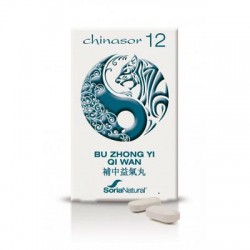 SORIA NATURAL CHINASOR 12 BU ZHONG YI QI WAN 30 COMPRIMIDOS