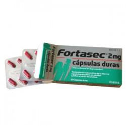 FORTASEC 2MG 20 CAPSULAS