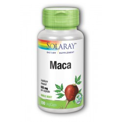SOLARAY MACA 525 MG 100 COMP