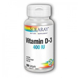 SOLARAY VITAMINA D3 120 PERLAS