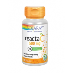 SOLARAY REACTA-C 500 MG 60 CÁPSULAS