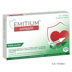 EMITIUM CORAZON 40 CAPSULAS