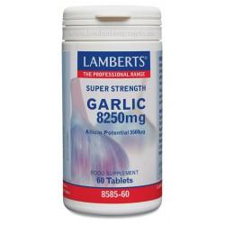 LAMBERTS AJO - GARLIC 8250MG 60 COMPRIMIDOS