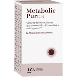 LCN METABOLIC PUR 120 CAPSULAS