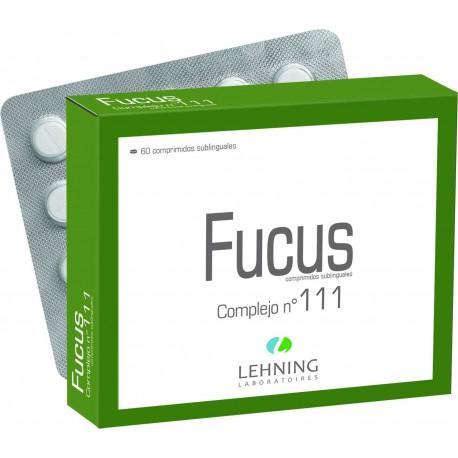 LEHNING COMPLEJO N111 FUCUS 60 COMPRIMIDOS SUBLINGUALES