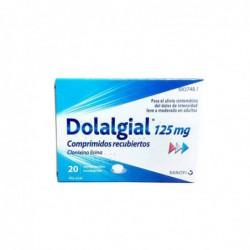 DOLALGIAL 125MG 20 COMPRIMIDOS RECUBIERTOS