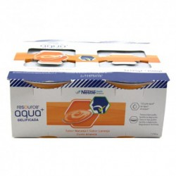 RESOURCE AGUA GELIFICADA 125 G  4 TARRINAS NARANJA 4X125G