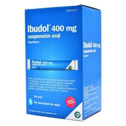 IBUDOL 400MG 20 SOBRES SUSPENSION ORAL
