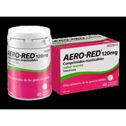 AERO RED 120 MG 40 COMPRIMIDOS MASTICABLES SABOR MENTA