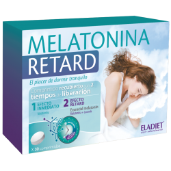 ELADIET MELATONINA RETARD 30 COMPRIMIDOS