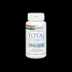 SOLARAY TOTAL CLEANSE URIC ACID 60 CAPSULAS