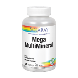 SOLARAY MEGA MULTI MINERAL 120CAPS